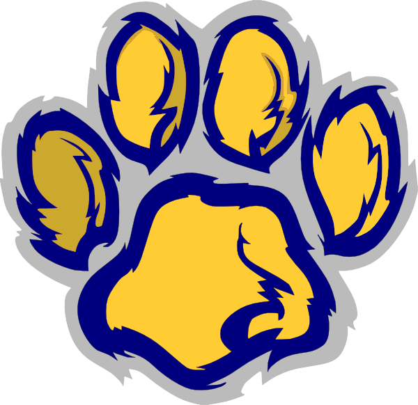 Wildcat Claw Marks Clipart