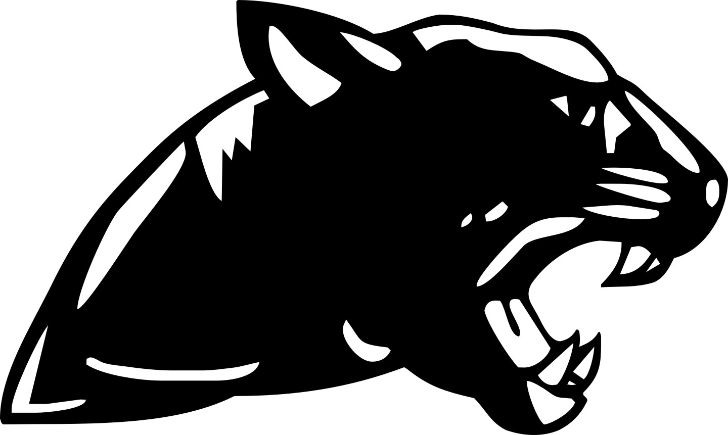 panther drawing outline - photo #21