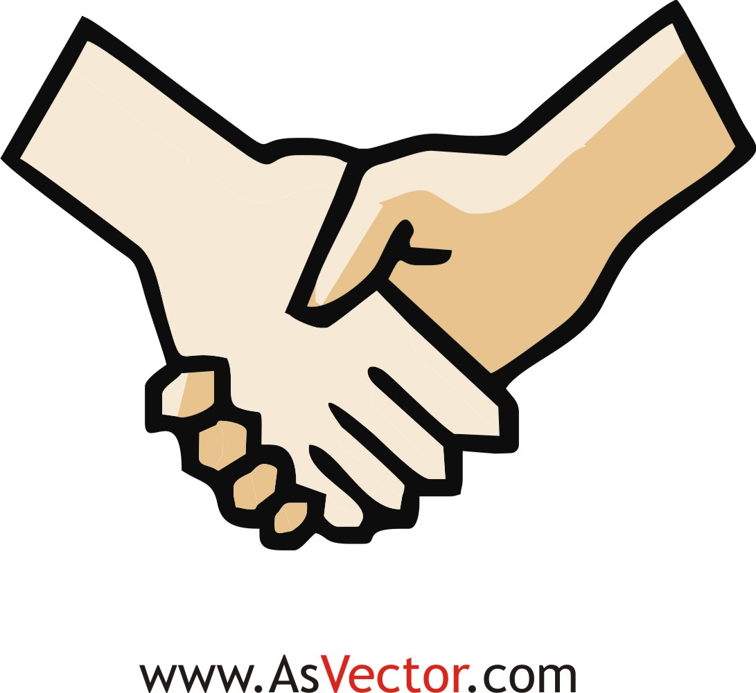 Cartoon Shake Hands Clipart Best