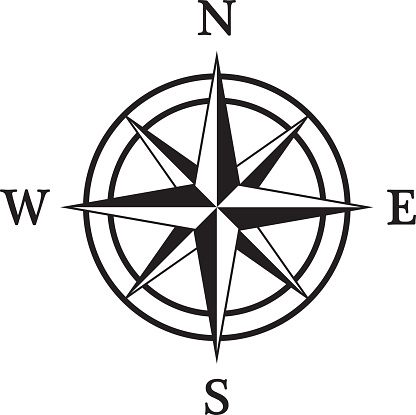 Line Drawing Compass - ClipArt Best