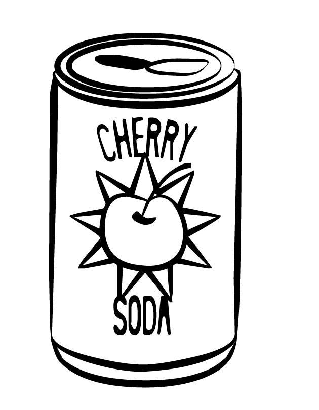 soda coloring pages - photo#14