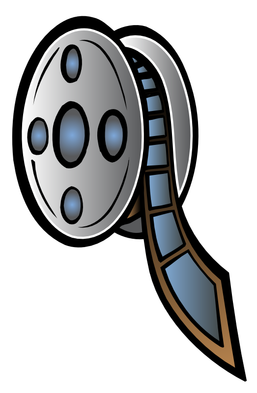 Film reel clipart free