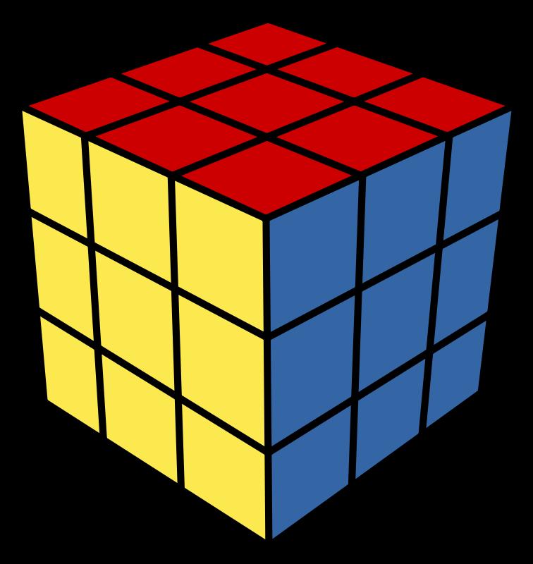 Cube 3D - ClipArt Best
