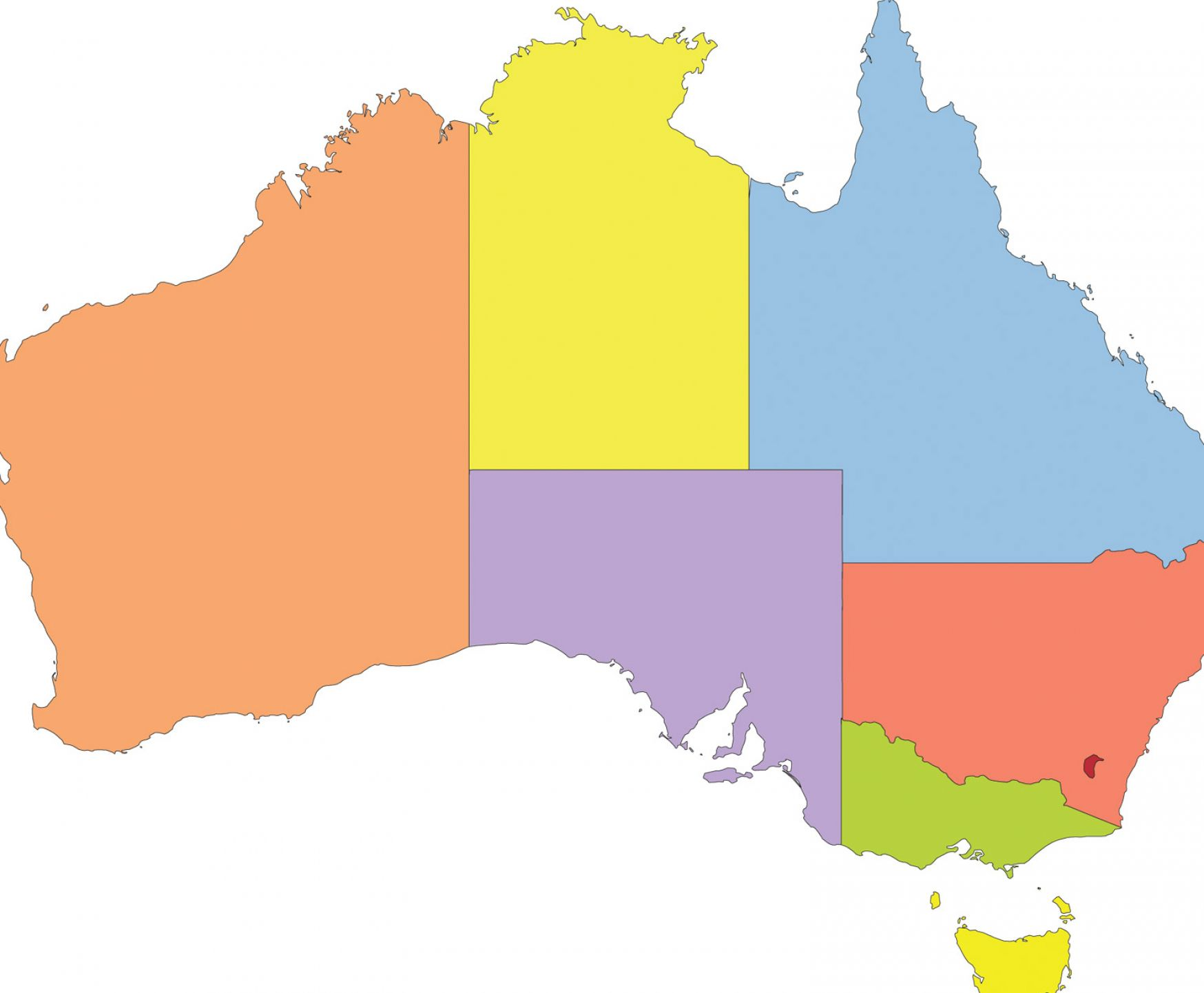 Maps Update 20001870 Blank Australia Map Blank Australia Map – Australia Map Blank