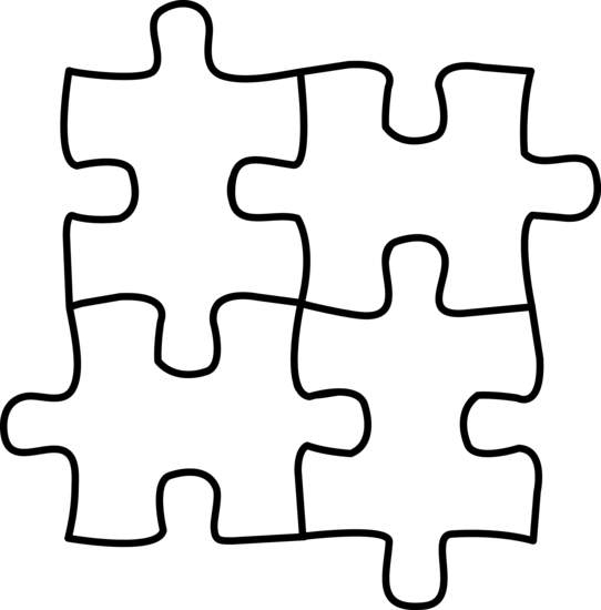 Download Puzzle Piece Coloring Page | GuthrieMedia