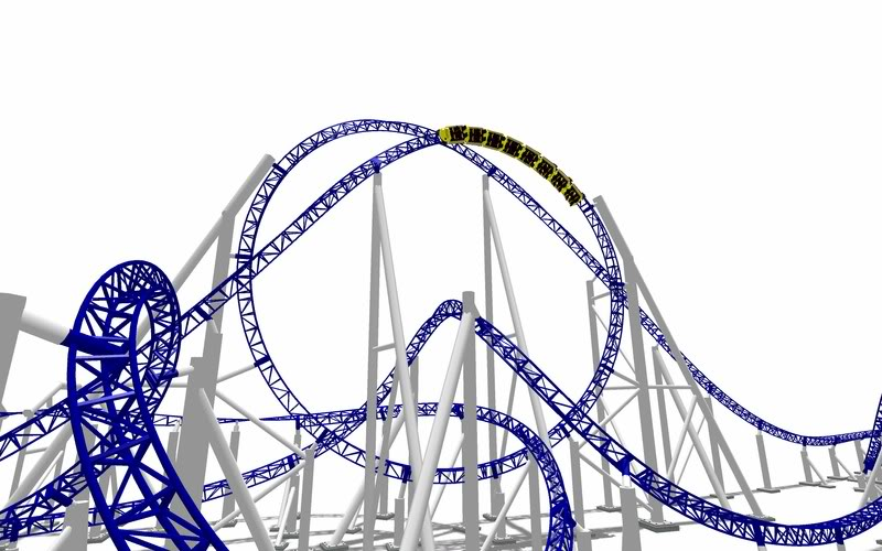 Intamin 12 looper [NL] - Theme Park Review