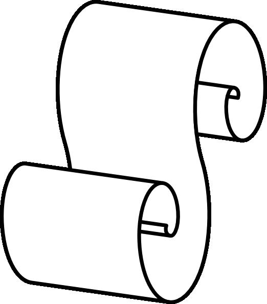 Paper Scroll clip art - vector clip art online, royalty free ...