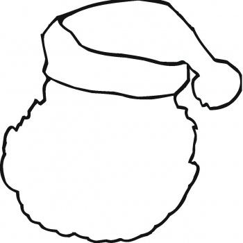 Santa Hat Printable