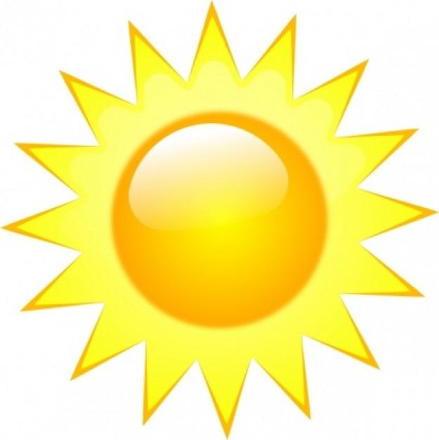 Summer Symbols Clip Art Summer sun clipart