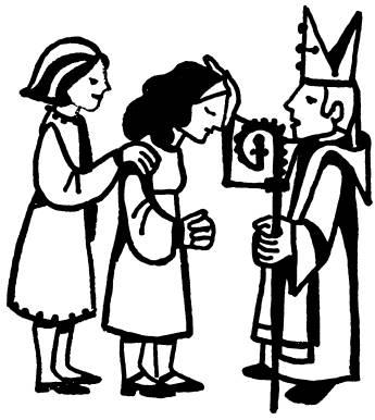 Catholic Confirmation Clip Art Sacrament symbols