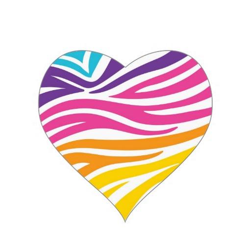 Rainbow Zebra Print - ClipArt Best