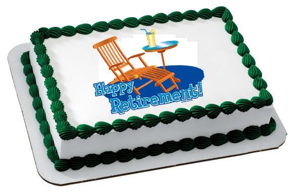 Retirement Cake Clip Art : Picture Of Happy Retirement - ClipArt Best