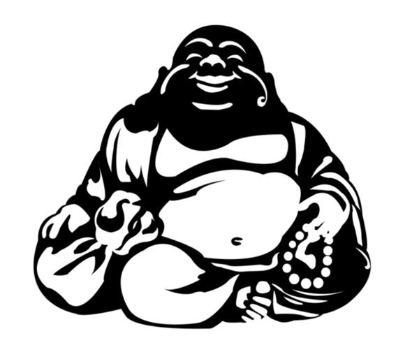 Chinese Happy Buddha Vector