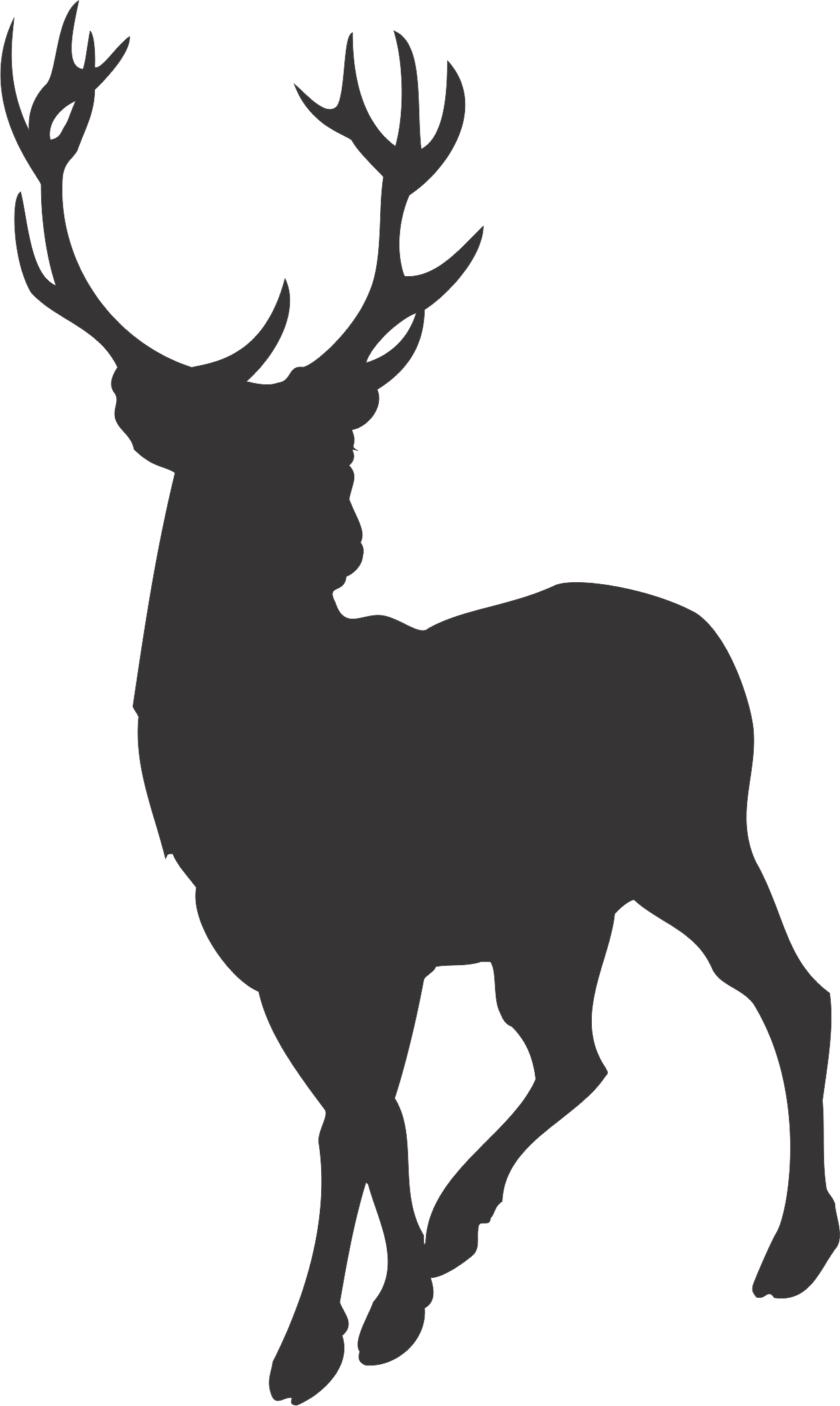 Cartoon Deer Silhouette 3 - ClipArt Best - ClipArt Best