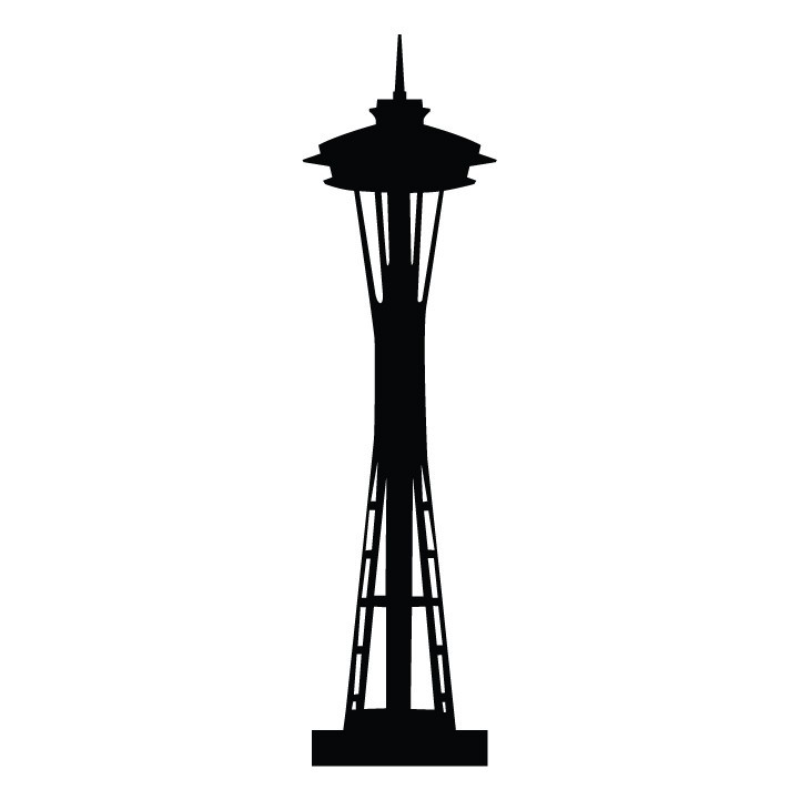 clipart of space needle - photo #3