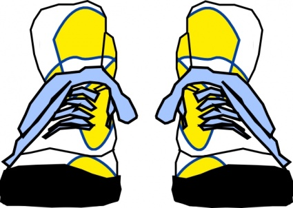 33 free tennis shoe clip art . Free cliparts that you can download to ...