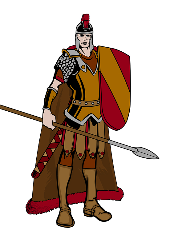 Picture Of Roman Soldier - ClipArt Best
