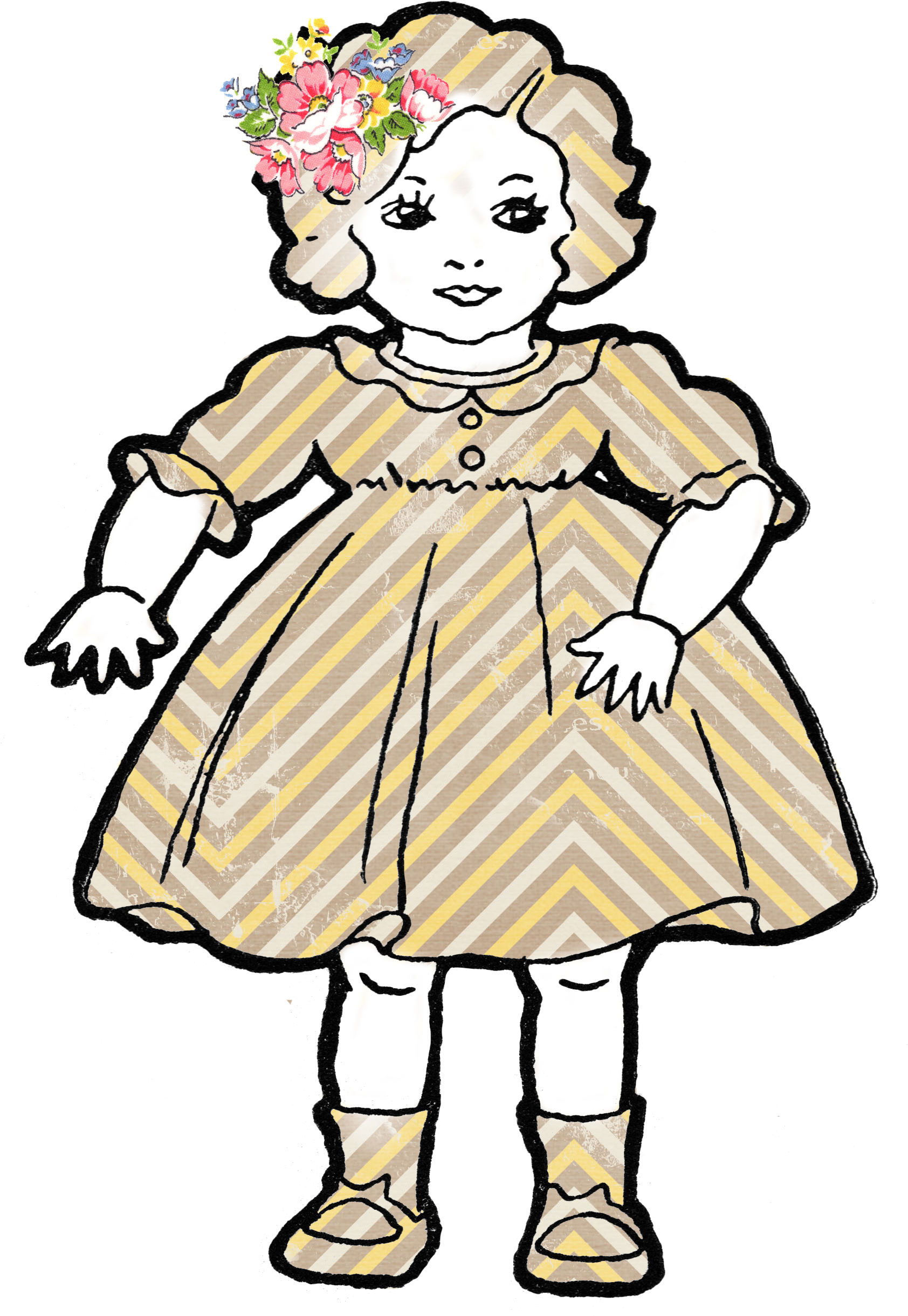 clipart of doll - photo #16