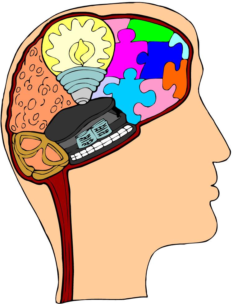 animated brain clipart - photo #19