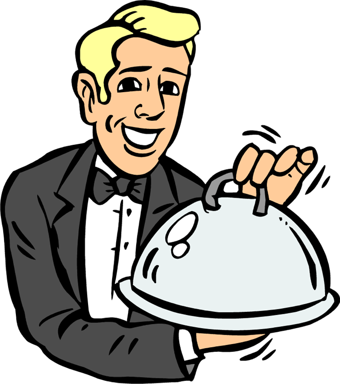 waiter clipart clipart best water clip art free download water clip art images
