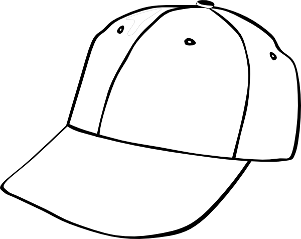baseball hat template clipart best. Black Bedroom Furniture Sets. Home Design Ideas