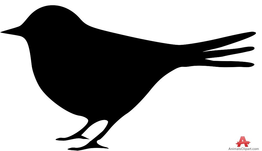 Bird Silhouette Clip Art Free - ClipArt Best