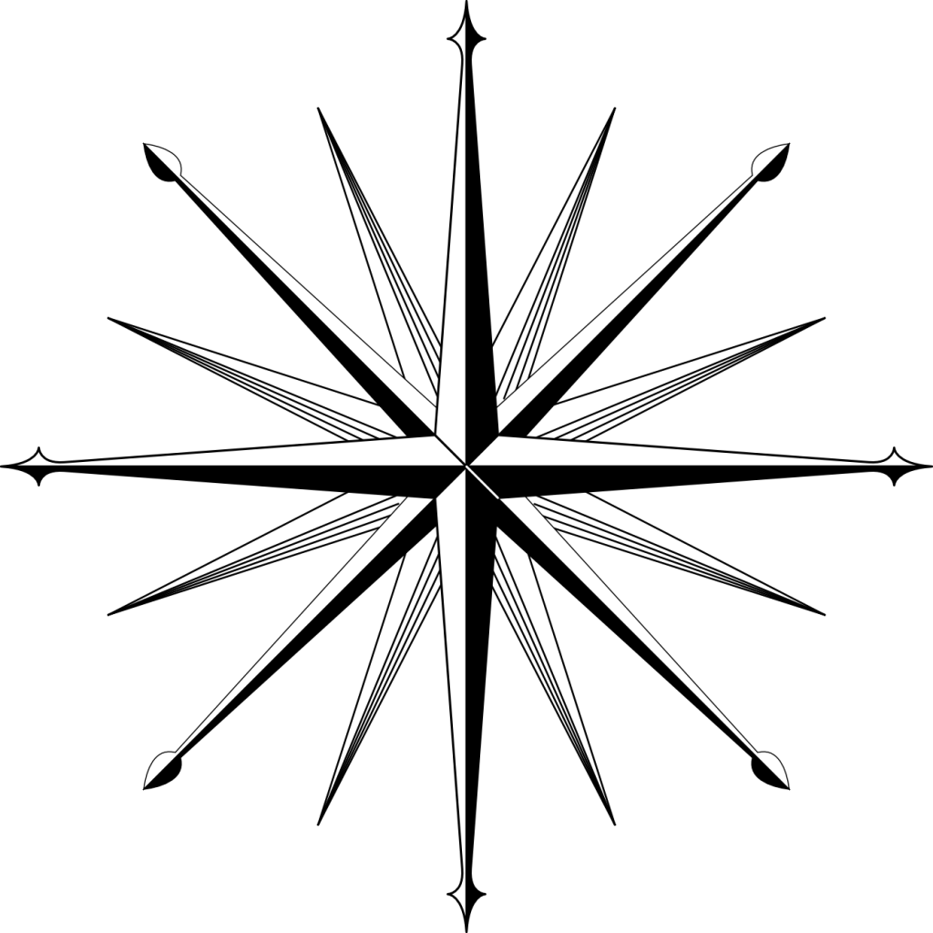 Compass Rose Coloring Page   Free Coloring Pages to Print ...