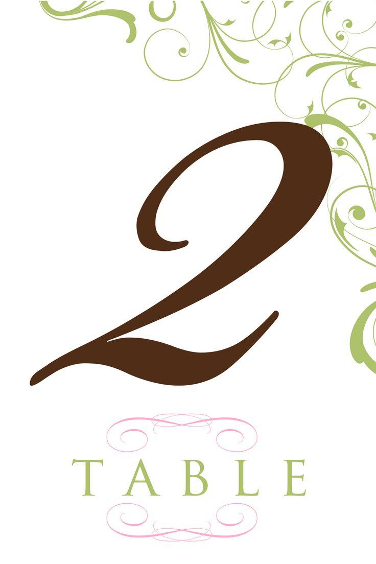 table number template clipart best. Black Bedroom Furniture Sets. Home Design Ideas