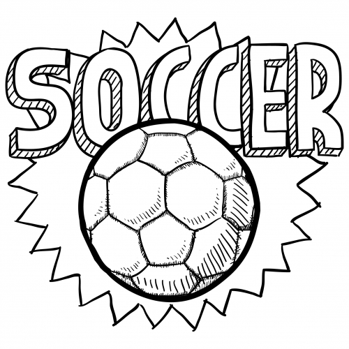 Soccer Ball Coloring Page Printable Picture Of A Soccer Ball - ClipArt  Best - ClipArt Best