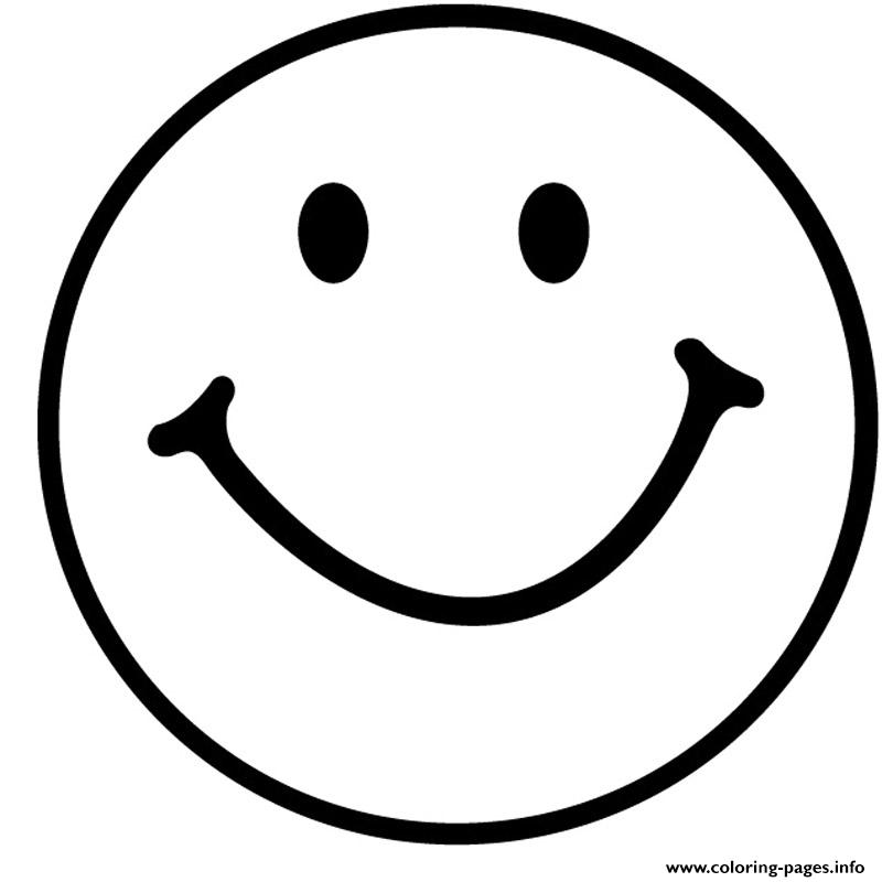 Smiley Face Coloring Page Printable Smiley Face Coloring Pages For -  ClipArt Best - ClipArt Best