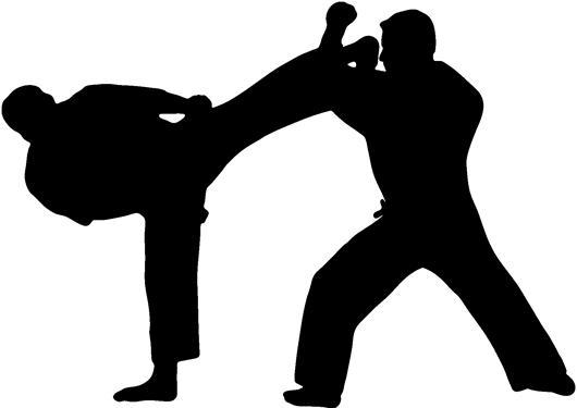 Picture Of Mart... Clip Art Of Karate