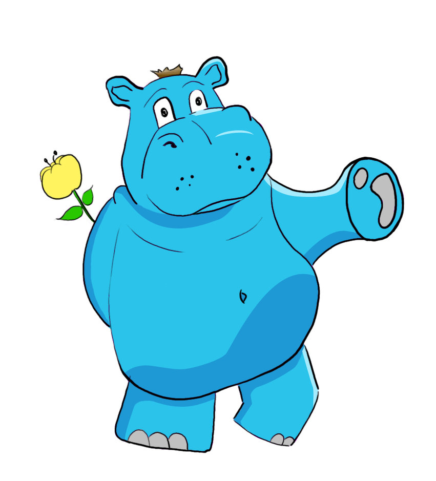 baby hippo clipart - photo #43