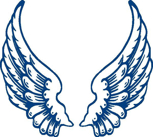 Bbb Angel Wings Clip Art Vector Online Royalty Free