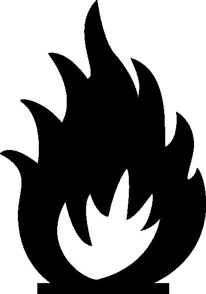 Sabathius Fire Warning Symbol clip art - vector clip art online ...