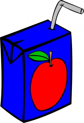 Apple Juice Box clip art - Download free Other vectors