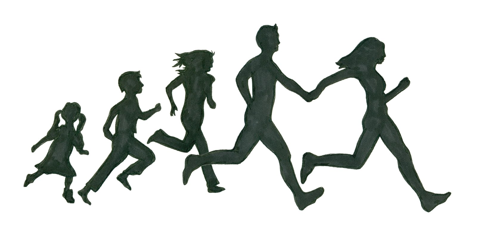 Running Silhouette Clipart Best