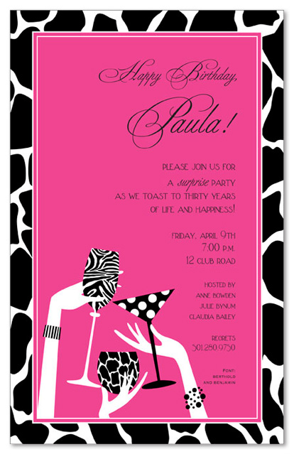 leopard print invitations templates - blank leopard print invitations clipart best