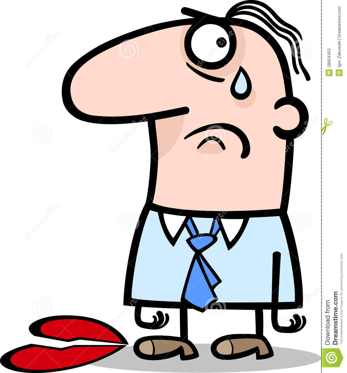 sad cartoon people clipart best