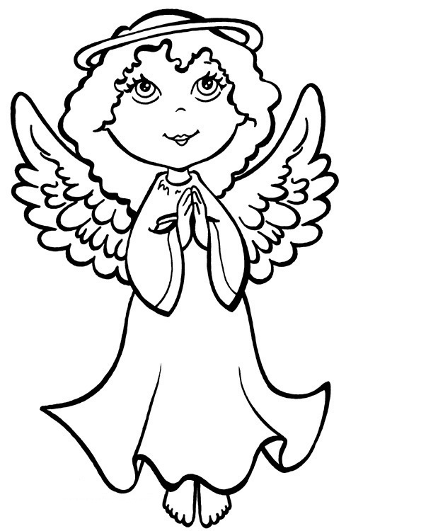 printable angel wings coloring pages - photo#26