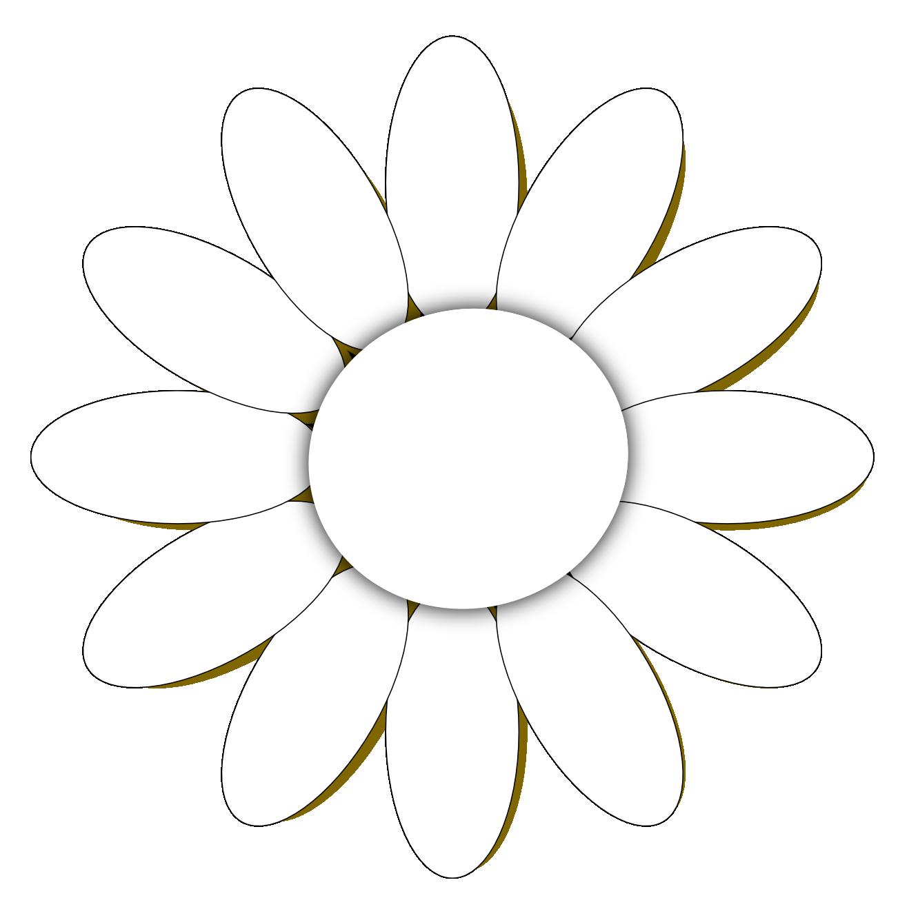 Annabella 67 Art Line Design : Daisy outline clipart best