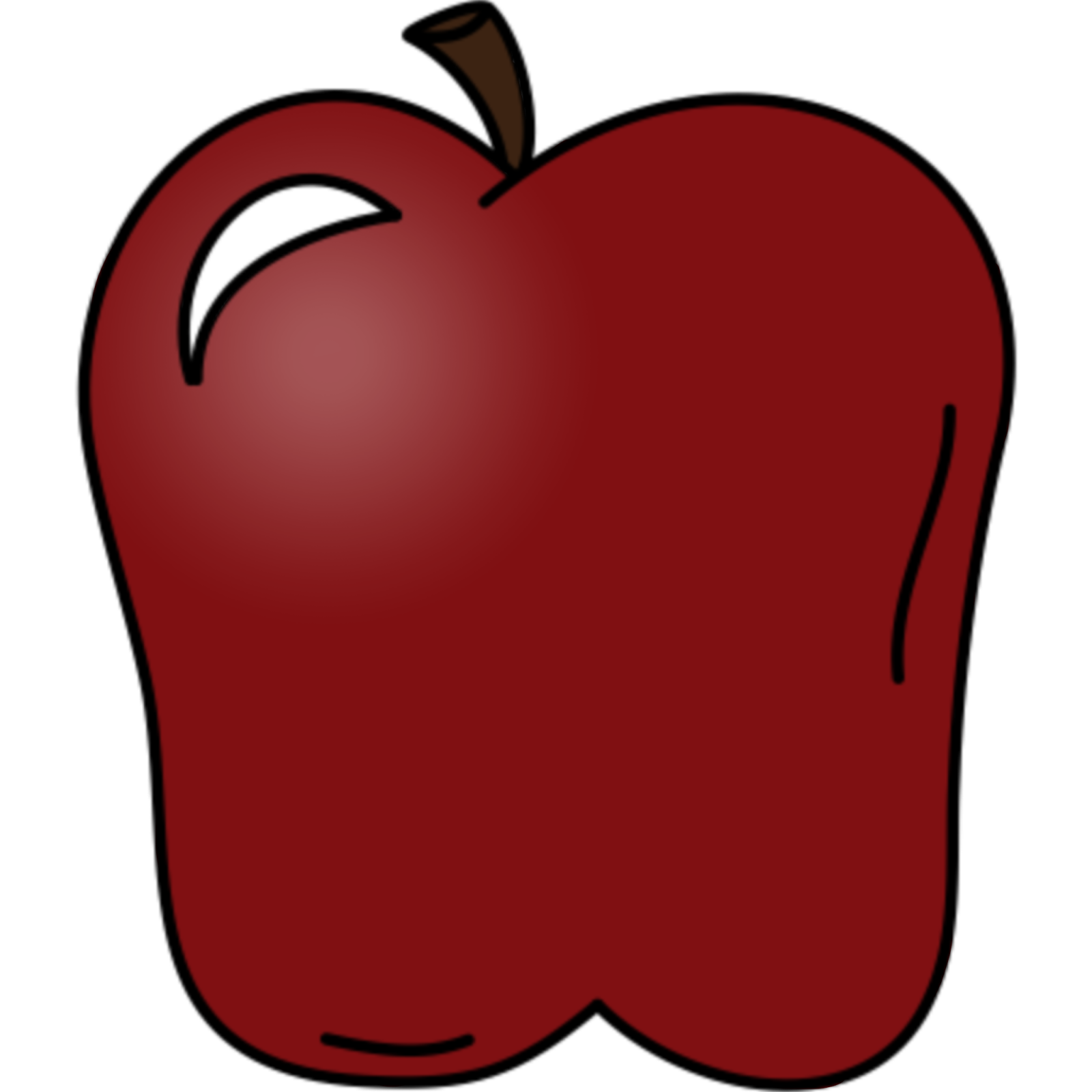 Apples Red Kids - ClipArt Best