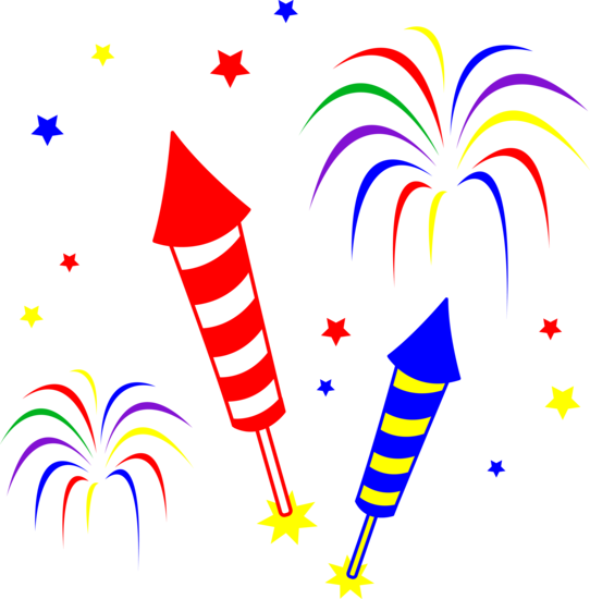 Fireworks clipart images free