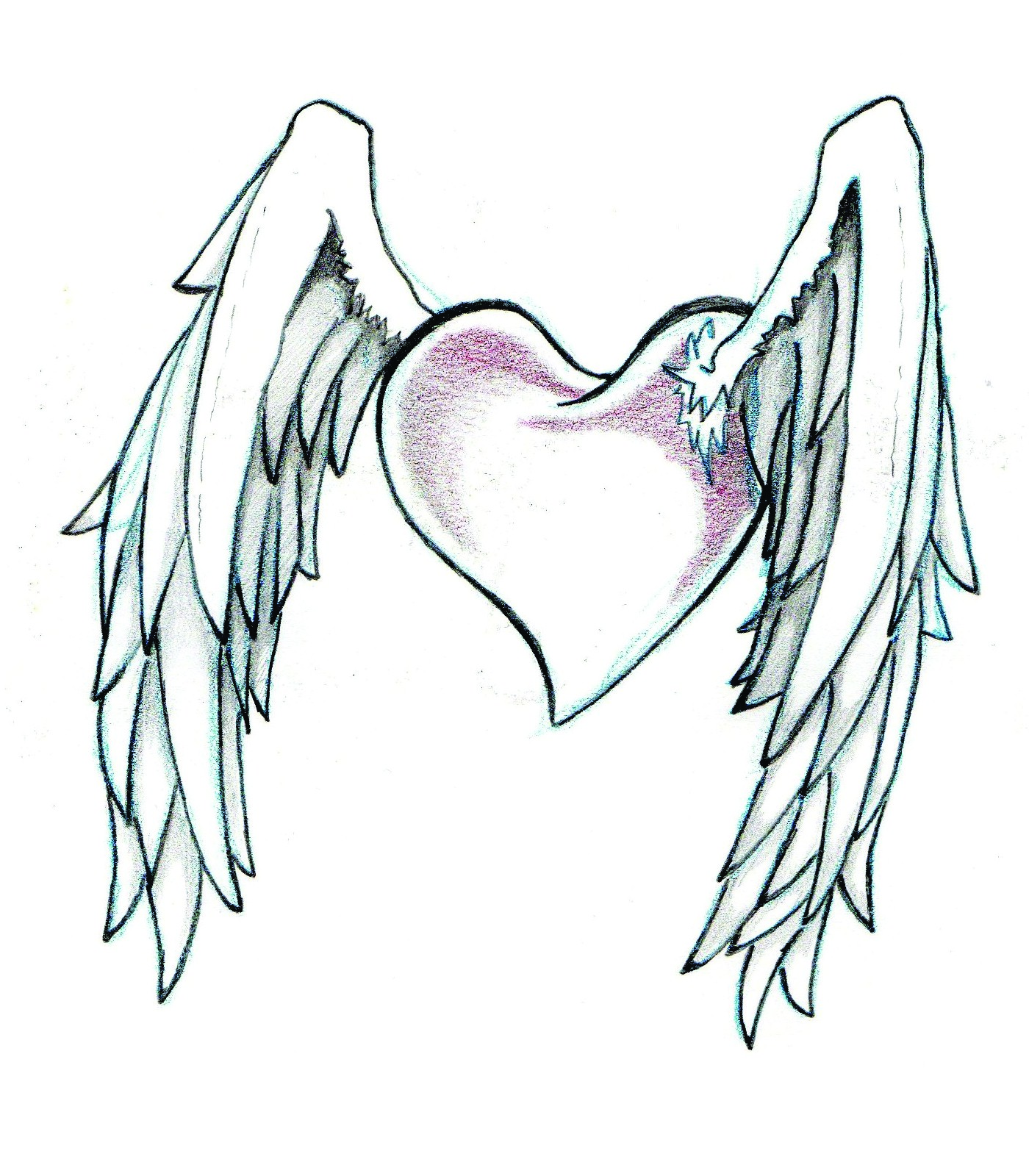 Cool Drawing Designs Of Hearts 3 Decoration