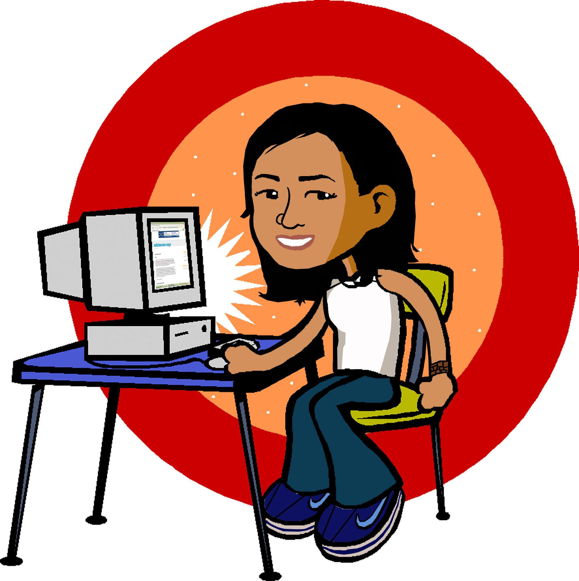 Library Computer Clipart - ClipArt Best