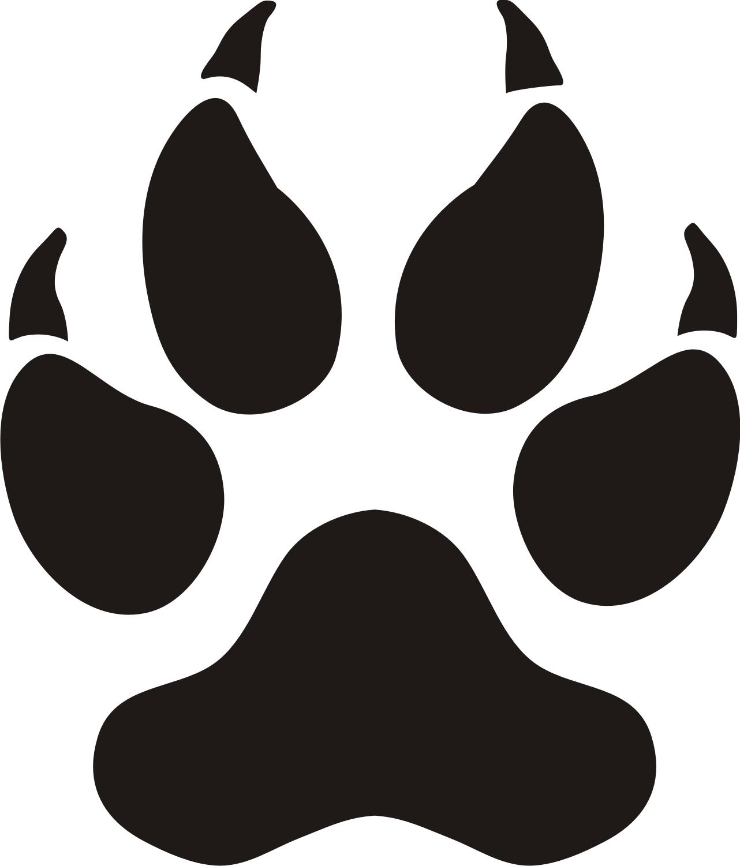 Clip Art Paw Clipart cougar paw print clip art clipart best clipart