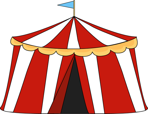 Circus Tent Clip Art Image - Free Clipart Images