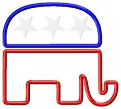 Stock illustrations, Republican symbol and Illustrations