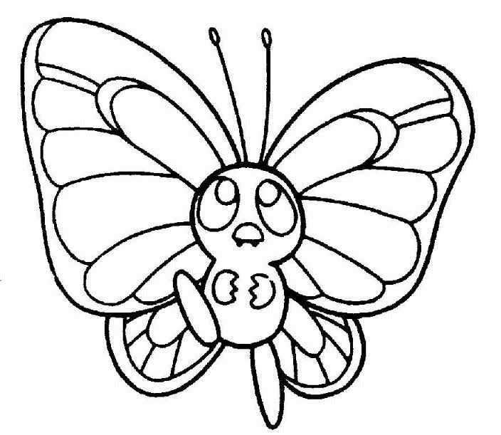 Line Drawing Software Free Download : Cute butterfly line drawing free download clip art