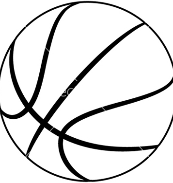 Free basketball vector clipart best for Free basketball vector