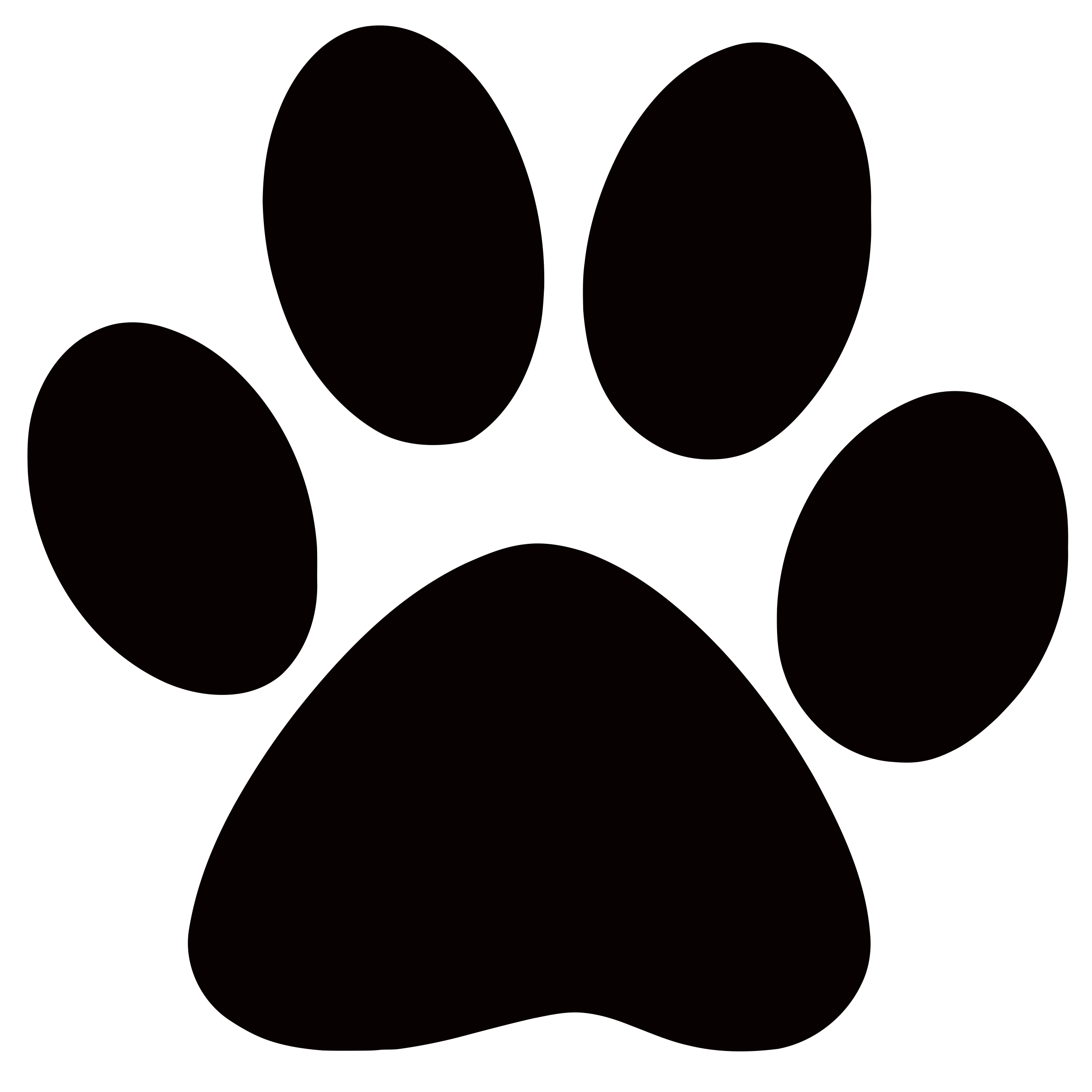 Best Photos of Large Dog Paw Print Template - Dog Paw Print ...